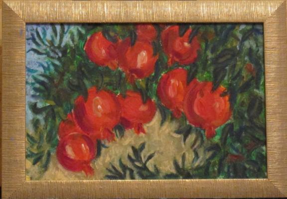 Olga Hermiseeva. Pomegranate garden