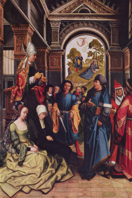 Бернард ван Орлей. Проповедь святого Амвросия
