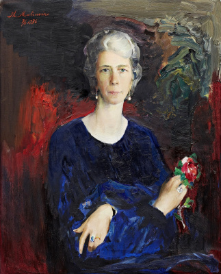Portrait of Mina Sederholm