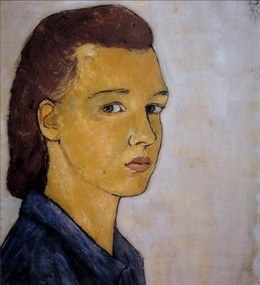 Шарлотта Саломон. Автопортрет