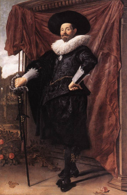 France Hals. Portrait Of Willem Heytheysena
