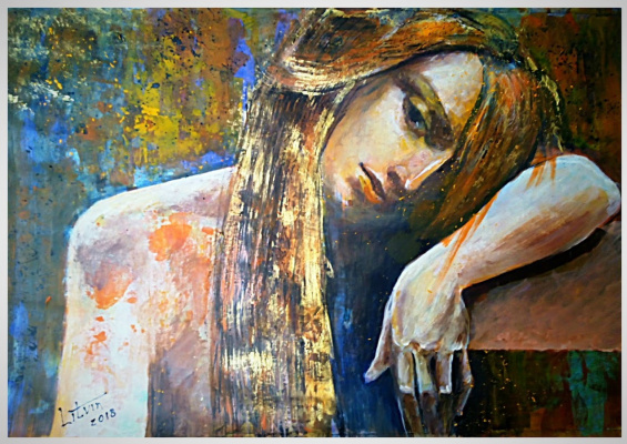 "Nina Litvin. ""Contemplation"""