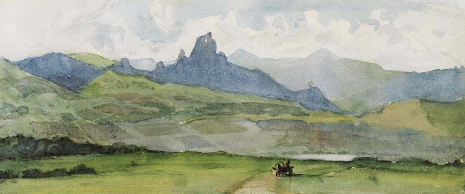 Vasily Ivanovich Surikov. Minusinsk steppe