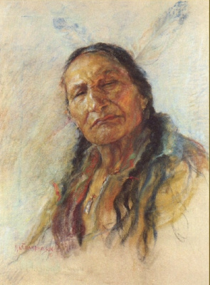 Николас де Гранмезон. Индейский портрет 51