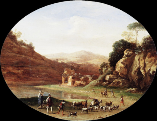 Корнелис ван Пуленбург. Долина