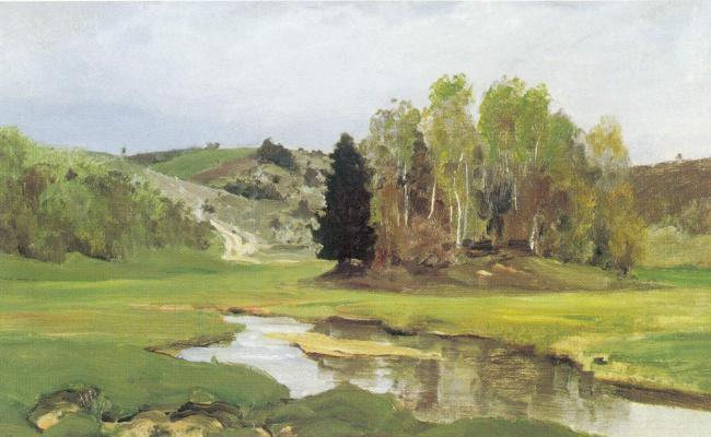 Василий Дмитриевич Поленов. Речка Свинка, близ Алексина