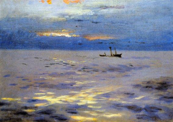 Джон Сингер Сарджент. Атлантический закат