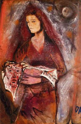 Oskar Kokoschka. The Veil Of Veronica