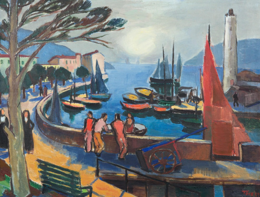 Tove Jansson. View of the port