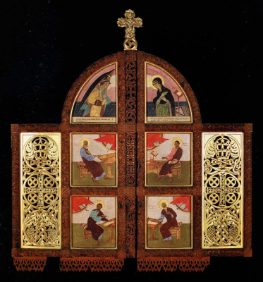 Peter Cold. Royal Doors of the Chapel of the Holy Spirit in Lviv