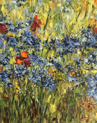 Диана Владимировна Маливани. Cornflowers