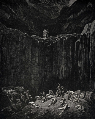 Paul Gustave Dore. Dante. Hell