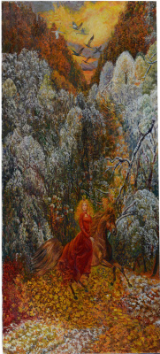 "Victor Brindatch. ""autumn ballad""the poet H. Podolsky picture 4"