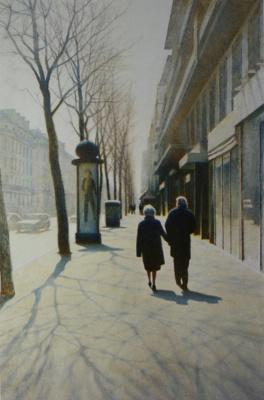 Spring. Boulevard Sevastopl