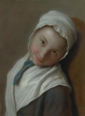 Пьетро Ротари. Девушка в белом чепчике.