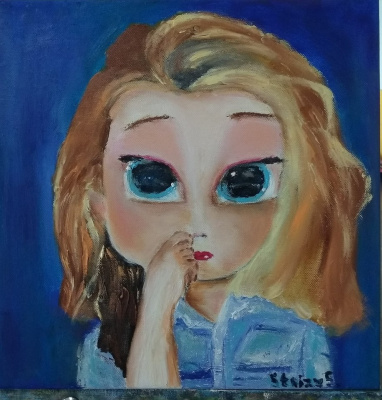 Svetlana Sergeevna Silchuk. English student Jane with big eyes