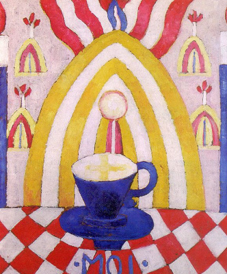 Marsden Hartley. Blue Cup