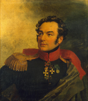 George Dow. Portrait of Peter Ivanovich Balabin