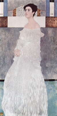 Gustav Klimt. Portrait Of Margaret Stonboro-Wittgenstein