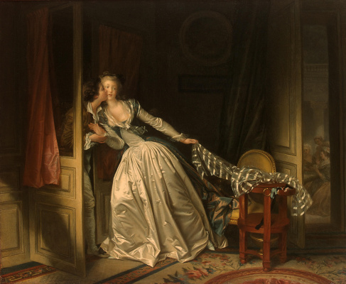 Jean Honore Fragonard. Stolen kiss