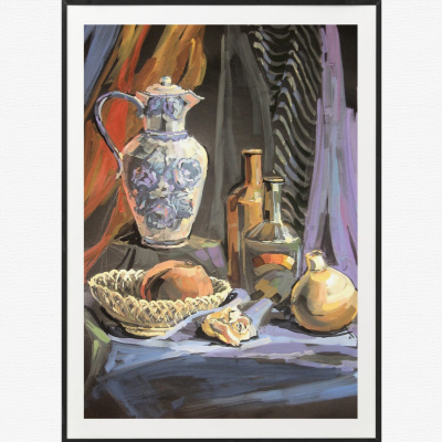 Elena Lobanova. Still Life with a Jug