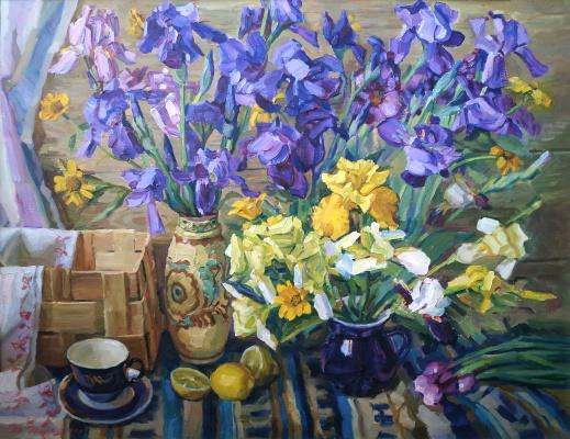 Valery Vitalyevich Doroshenko. Spring flowers