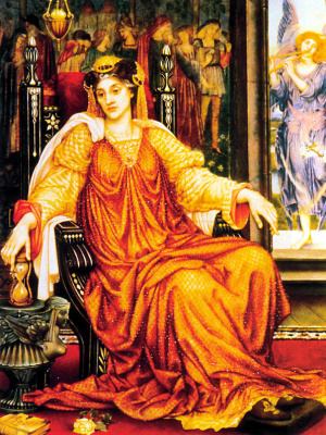 Evelyn De Morgan (Pickering). Hourglass