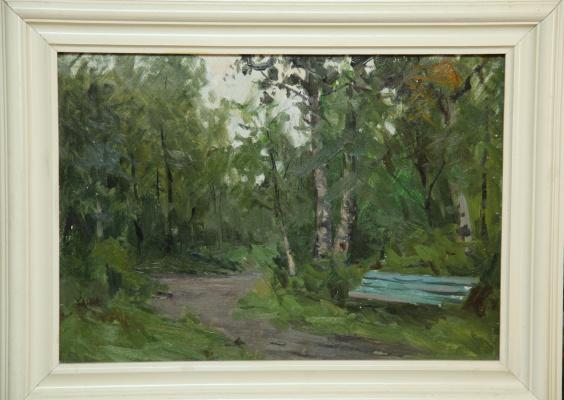 Борис Александрович Булкин. Парк в Соломбале