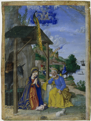 Girolamo dai Libri (Girolamo dai Libri). Nativity