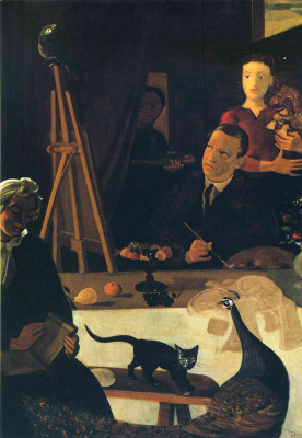 Andre Derain. The artist and his family