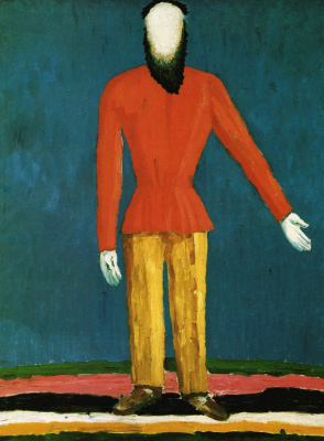 Kazimir Malevich. The farmer