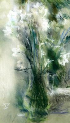 Tetyana Yablonska. The white bells