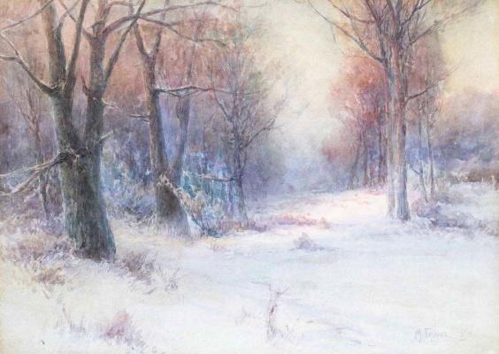 Михаил Андреевич Беркос. Зима