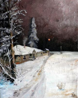 Sergei Nikolayevich Khodorenko-Zatonsky. Christmas night