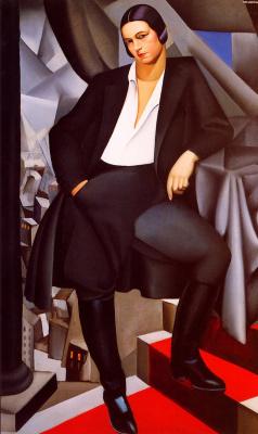Tamara Lempicka. Portrait of Duchess de La Salle