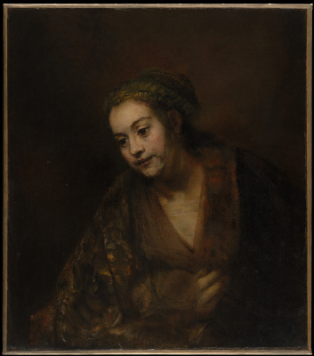Rembrandt Harmenszoon van Rijn. Hendrickje Stoffels