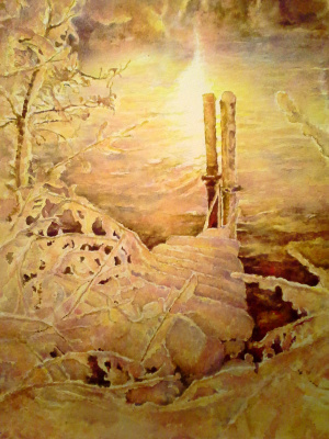 Alexey Yuryevich Maslov. Winter fairy tale