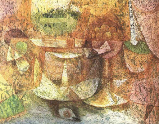 Paul Klee. Still life with dove