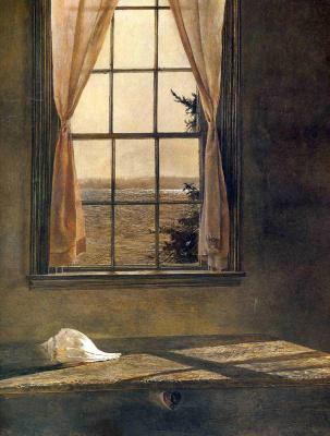 Эндрю Уайет. Лучи солнца в окне