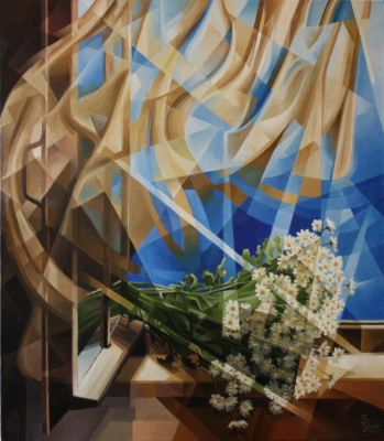 Vasily Krotkov. Day. Post-kubofuturizm