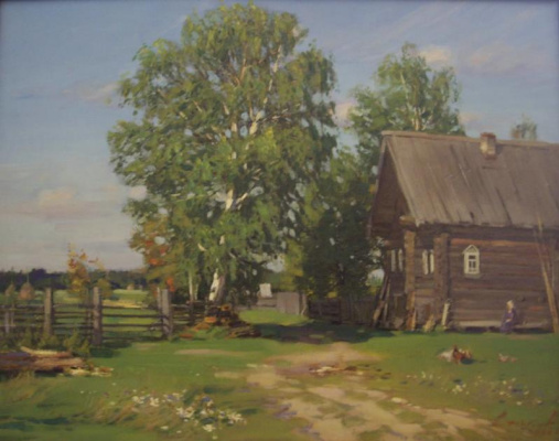 Yuri Nikolaevich Volkov. House near the outskirts