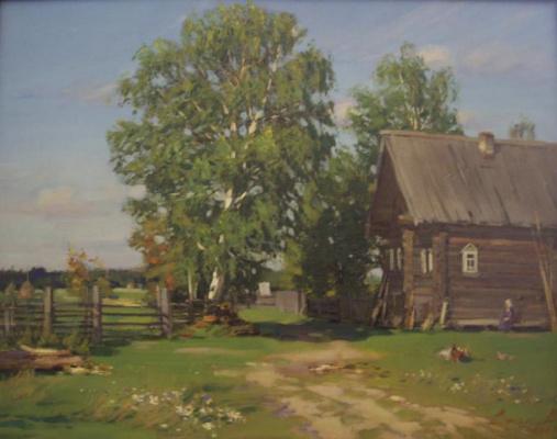 Yuri Nikolaevich Volkov. House near the outskirts