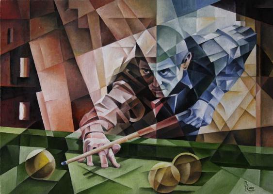 Vasily Krotkov. Kiks. Kubofuturizm