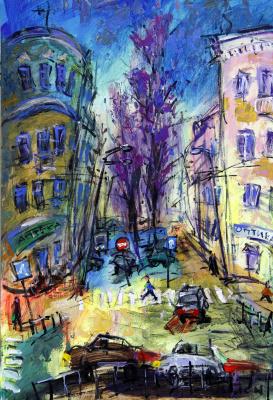 Ilya Pavlovich Spichenkov. October-Cranberry. Spring motive.