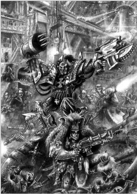 Mark Gibbons. Necromunda 9
