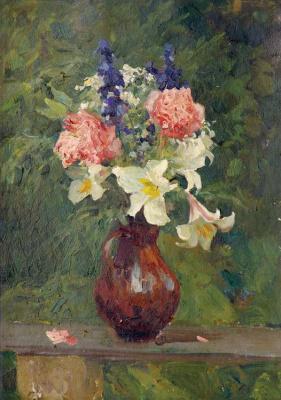 Владимир Александрович Серов. Цветы в кувшине