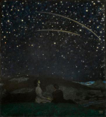 Falling stars. 1912