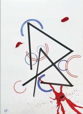 Alexandra Knabengoff. Simple lines