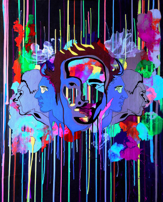 "Alef Art. Art picture ""Infinity"" artist Alef"