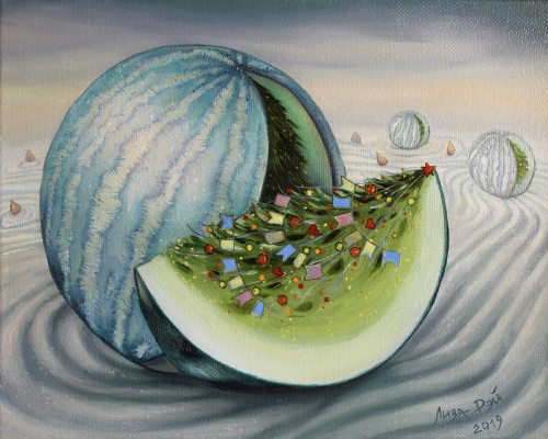 Lisa Ray. Winter watermelon